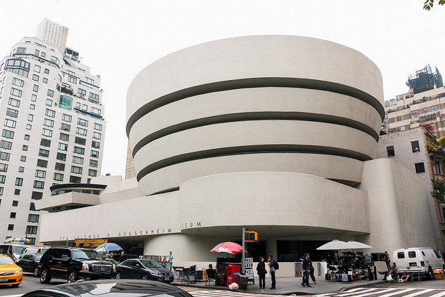 Photo du musée Solomon R. Guggenheim à New-York