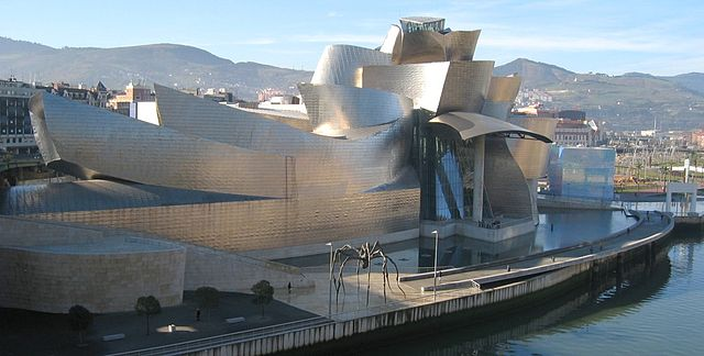 Photo du musée Guggenheim de Bilbao