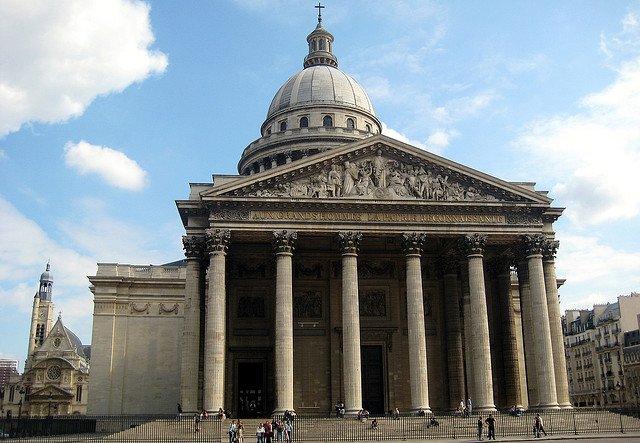 Le Panthéon de Paris avant sa rénovation