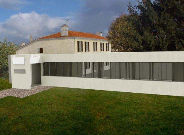 Extension maison moderne maison ancienne avec extension - Extension maison design ...