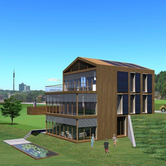Exemple de maison passive.