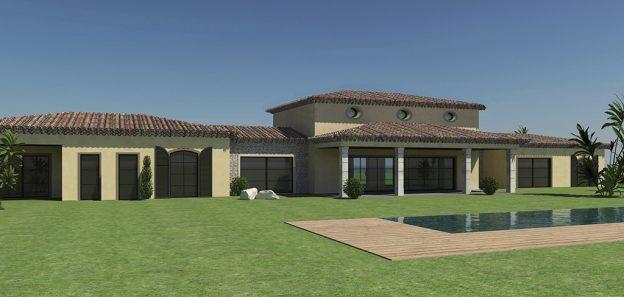 Maison Saint-Tropez Permis de construire DDPC 1