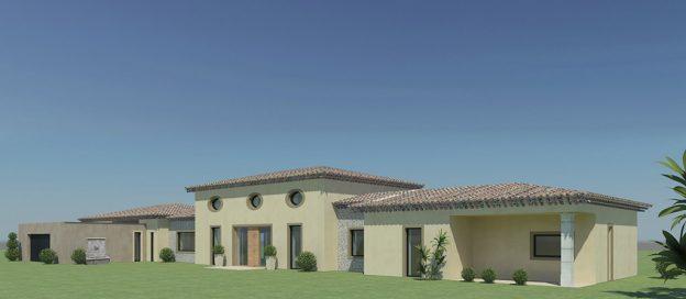 Maison Saint-Tropez Permis de construire DDPC 1/2