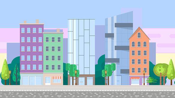 Image d'un paysage urbain.